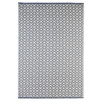 Grey Diamond Reversible Weather Rug