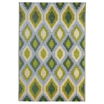 Green & Yellow Reversible Weather Rug