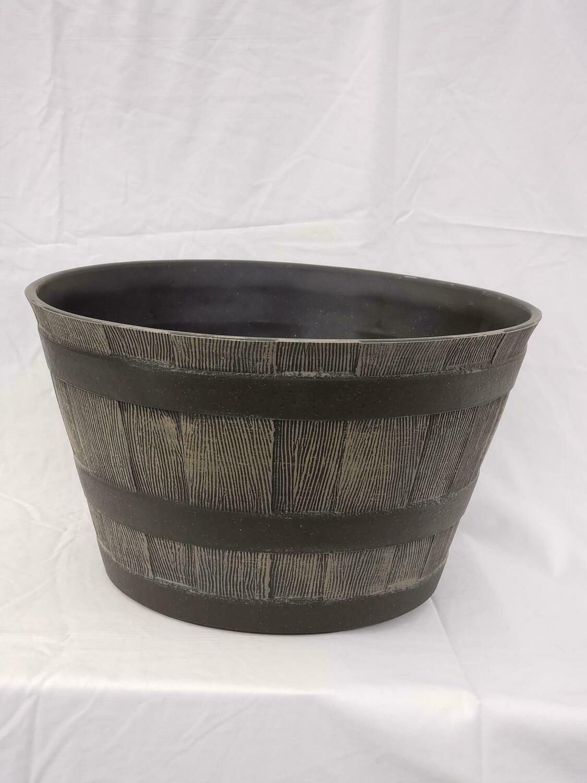 """20.5"""" Whiskey Barrel"""