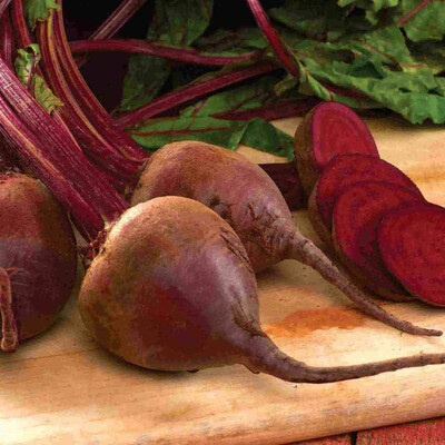Beet Detroit Dark Red Seed Tape