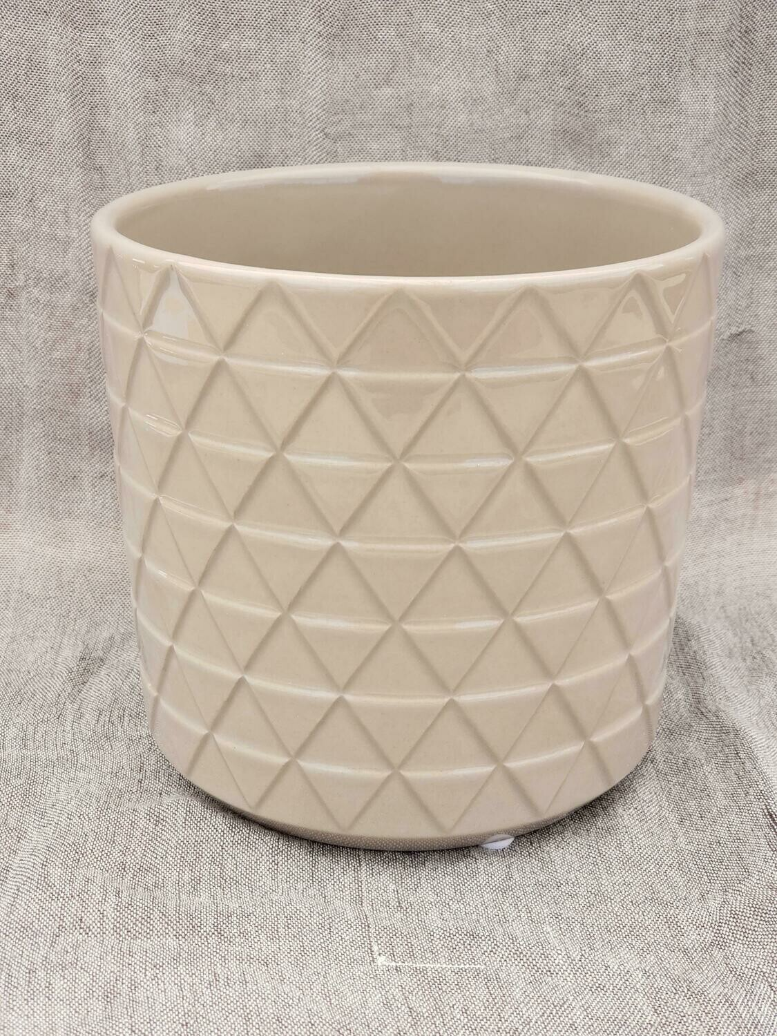 15cm CRM Pattern Ceramic Pot