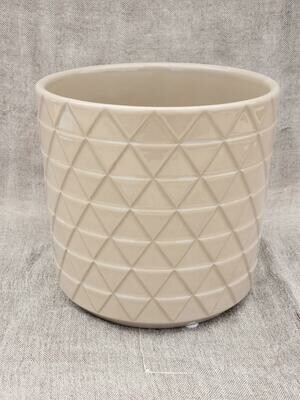 15cm CRM Pattern Ceramic Pot