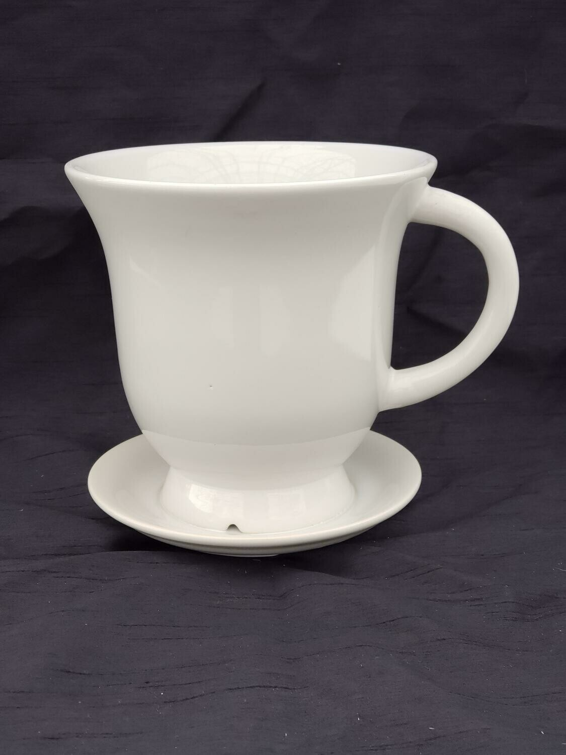 18cm WHT Ceramic Tea Pot