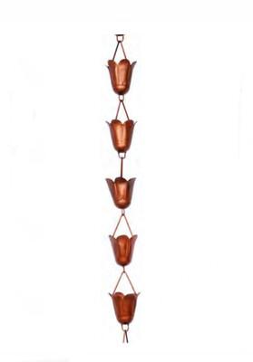 Tulip Rain Chain