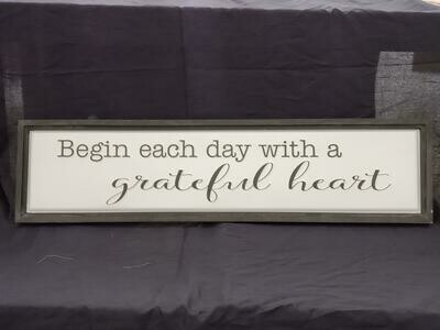 Grateful Heart Wall Art