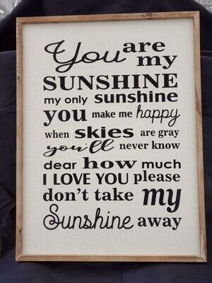 My Sunshine Wall Art