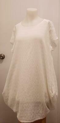 WHT Mesh Dress