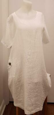 WHT Linen Pocket Dress