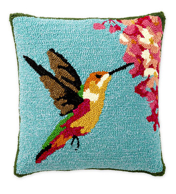 Humming Bird Accent Pillow