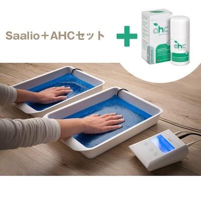 Saalio イオントフォレーシスとAHCセンシティブ30ml(脇・身体用の制汗剤)1本のセット