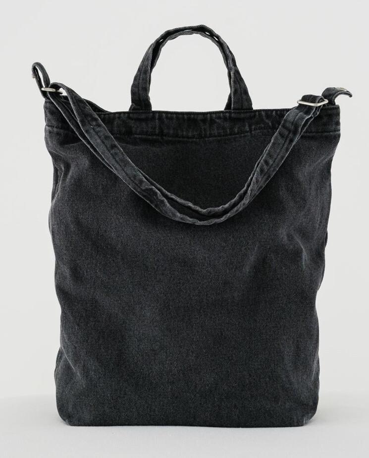 Baggu, Canvas Tote Bag, Washed Fabric