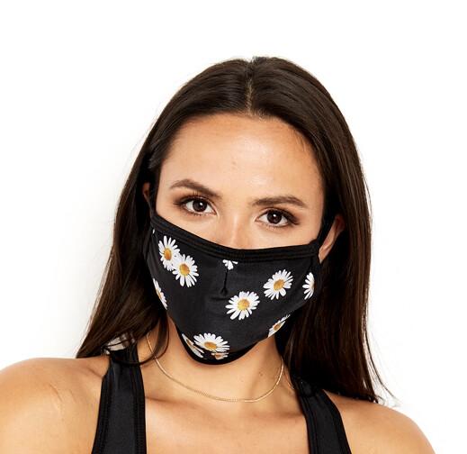 Goldsheep, Face Mask, Daisies