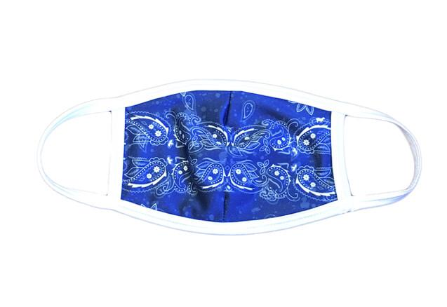 Goldsheep, Face Mask, Blue Bandana