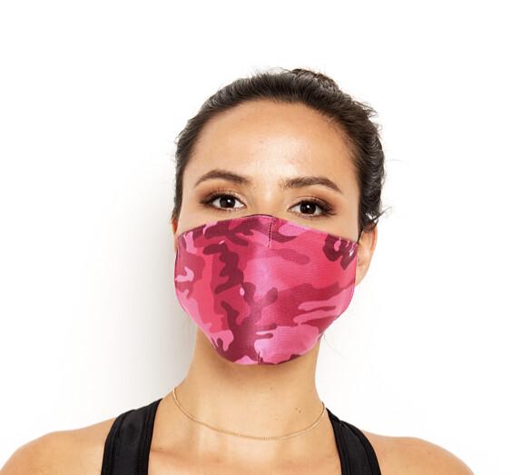 Goldsheep, Face Mask, Pink Camo