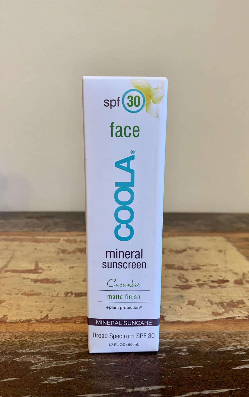 COOLA, Mineral Sunscreen, Matte, Cucumber SPF30