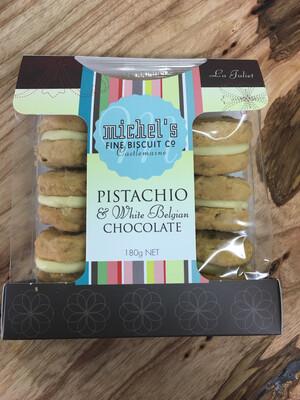 Pistachio And White Belgian Chocolate