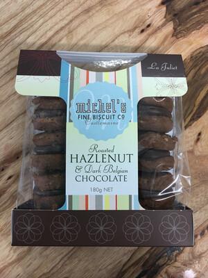 Roasted Hazelnut & Dark Belgian Chocolate