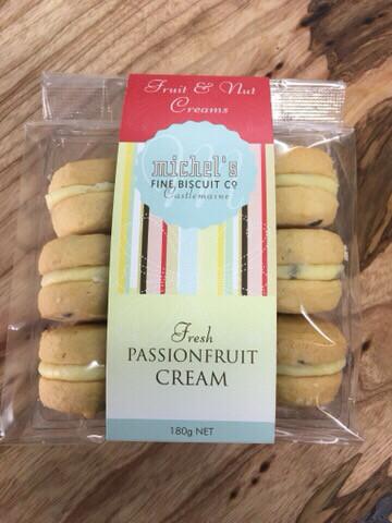 Fresh Passionfruit Cream