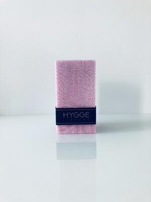 HYGGE rožinė kvepianti žvakė