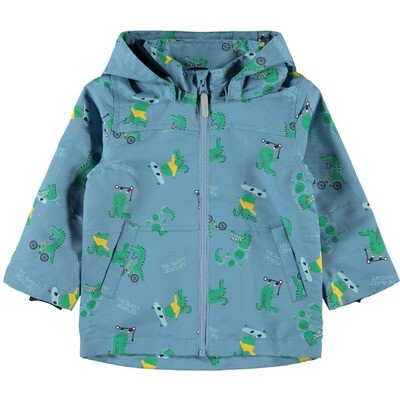 Name It Boys Water-Resistant Raincoat