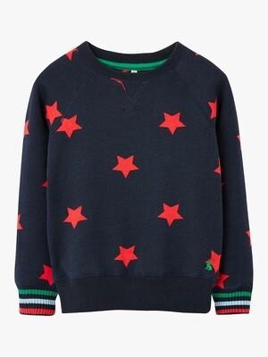 Joules Dale Star Sweatshirt