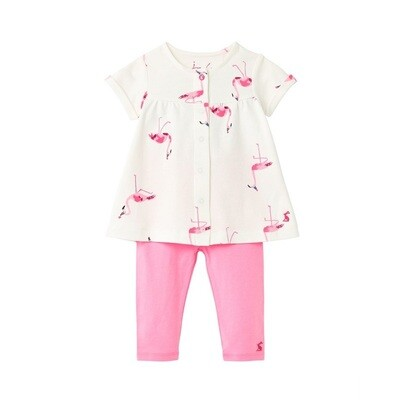 Joules Perrie 2 Piece (Flamingo)
