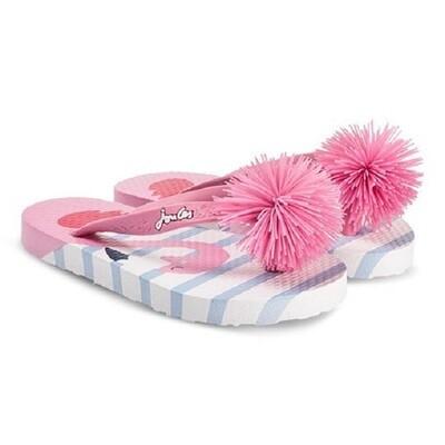 Joules Flip Flops (Flamingo)
