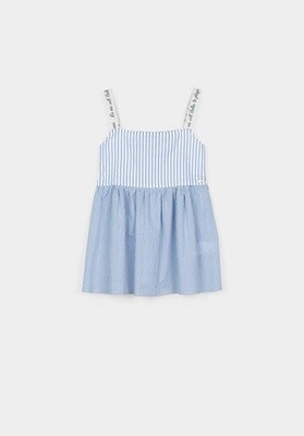 Tiffosi Girls Smock Strap Top (10034124)