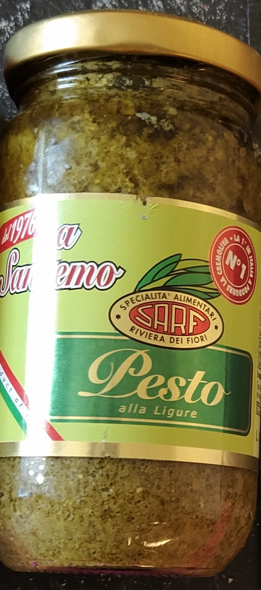 Sauce Pesto Basilic