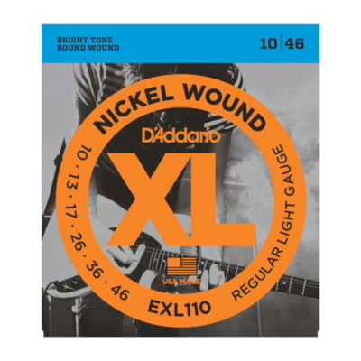 D'Addario EXL110 Regular Light