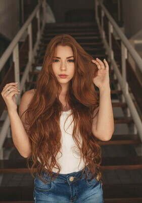 """18"""" - 20"""" Clip-In Hair Extensions - Human Like, High Temperature"""