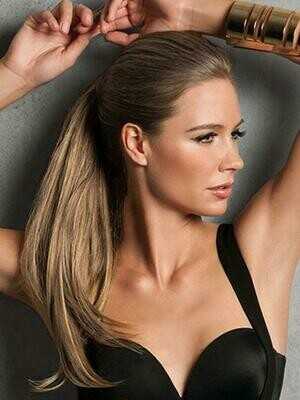 """22"""" Ponytail Extensions  -  Wrap - Straight"""