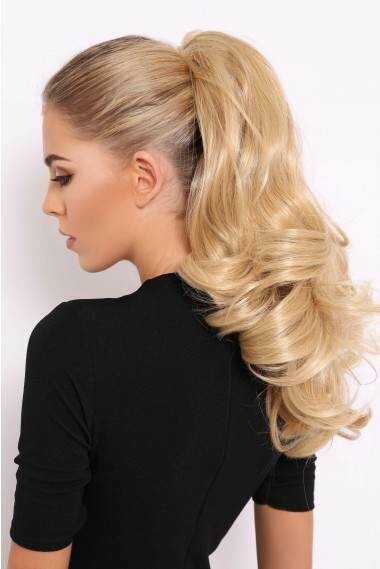 """18"""" - 20"""" Ponytail  Extensions - Clip / Claw- Body Wave"""