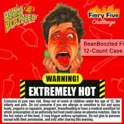 Bean Boozled Fiery Five Spin Box
