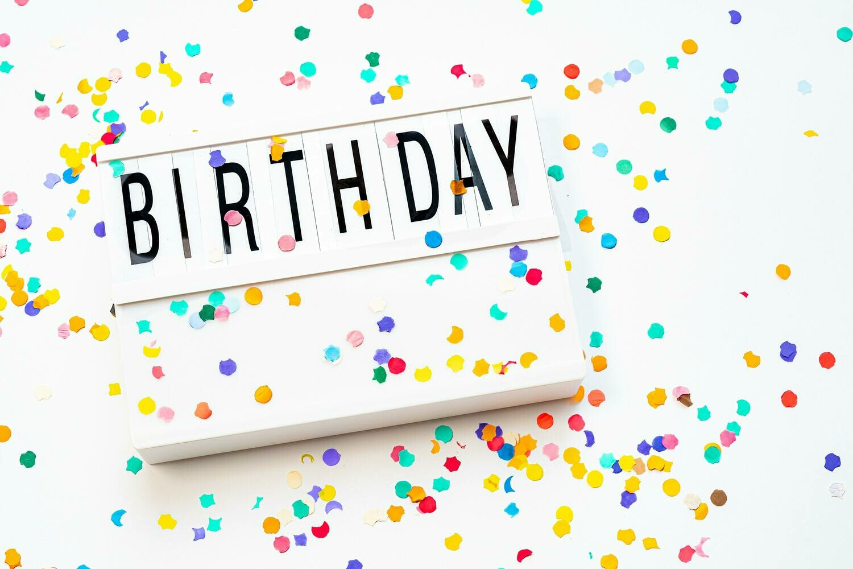 Sweet Street Candy Gram - Happy Birthday