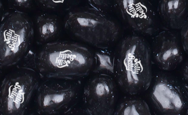 Jelly Belly Beans -- Black Licorice