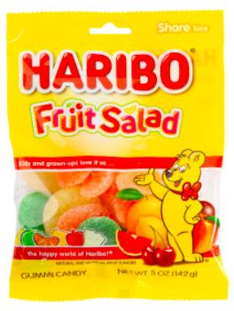Haribo- Fruit Salad Peg