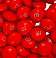 Single Color M&M's -- large Bags