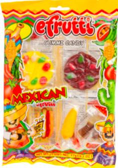 efrutti - Mexican Dinner Bag