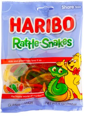 Haribo - Rattle Snakes