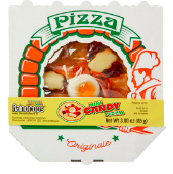 Candy and Gummy Pizza, small