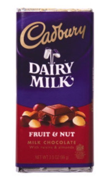 Cadbury -  Fruit & Nut