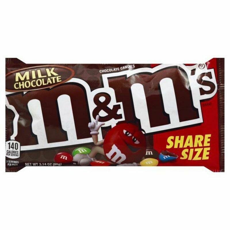M&Ms - Milk Chocolate, share size