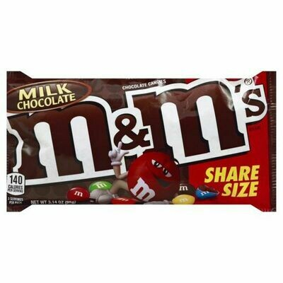 M&Ms - Milk Chocolate, share size