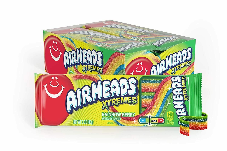 Airheads Xtreme Rainbow Belts 2oz