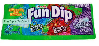 Fun Dip - 1.4oz assorted