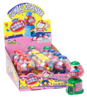 Kidsmania - Dubble Bubble Mini Gumball Dispenser