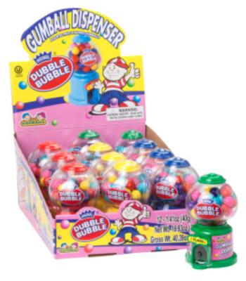 Dubble Bubble Mini Gumball Dispenser