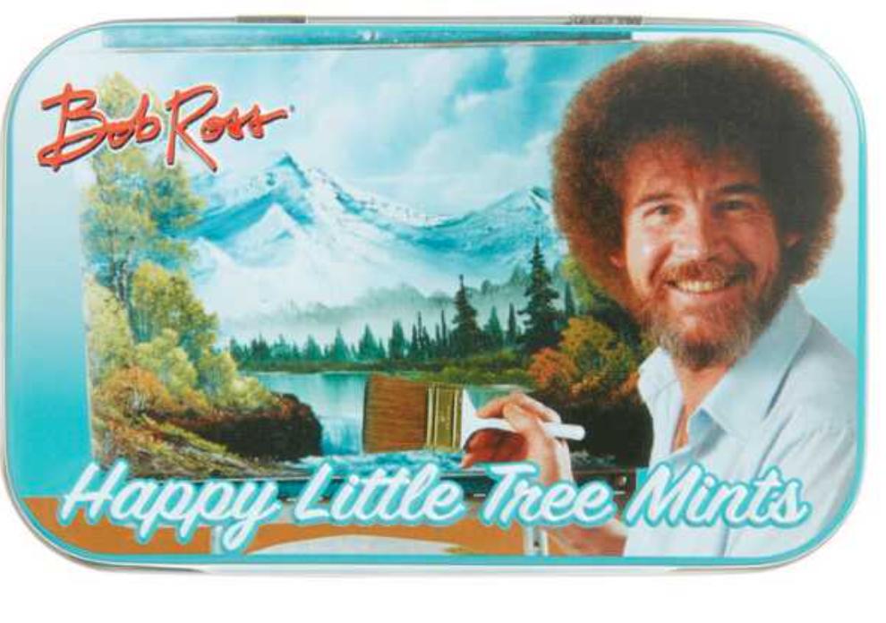 Bob Ross Happy Little Tree