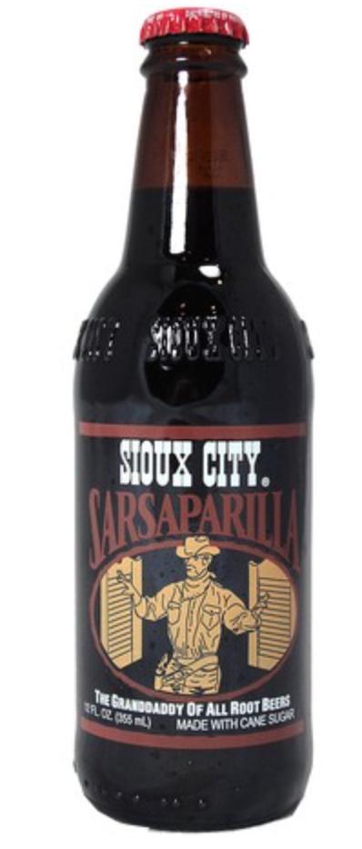 Sioux City Sarsparilla with CRV